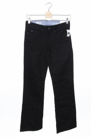 Дамски дънки Gap, Размер S, Цвят Черен, 98% памук, 2% еластан, Цена 8,61лв.