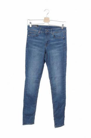Γυναικείο Τζίν H&M Divided, Μέγεθος M, Χρώμα Μπλέ, 82% βαμβάκι, 16% πολυεστέρας, 2% ελαστάνη, Τιμή 16,04€