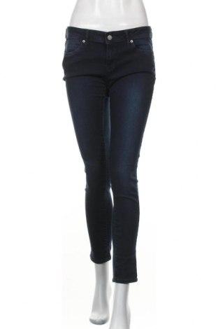 Γυναικείο Τζίν Mango, Μέγεθος L, Χρώμα Μπλέ, 70% βαμβάκι, 28% πολυεστέρας, 2% ελαστάνη, Τιμή 15,59€
