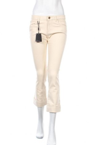 Дамски дънки Massimo Dutti, Размер M, Цвят Бежов, 98% памук, 2% еластан, Цена 59,25лв.