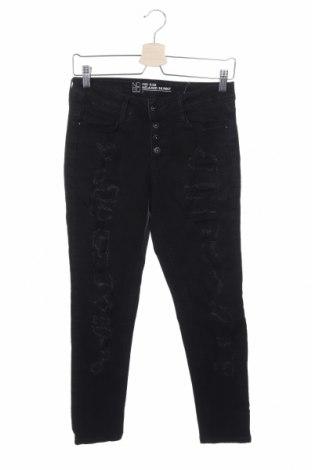 Дамски дънки No Boundaries, Размер S, Цвят Черен, 98% памук, 2% еластан, Цена 23,52лв.