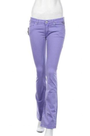 Дамски дънки Replay, Размер M, Цвят Лилав, 8% памук, 2% еластан, Цена 66,75лв.
