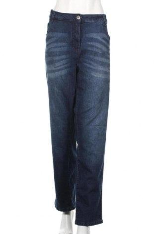 Γυναικείο Τζίν Up 2 Fashion, Μέγεθος 3XL, Χρώμα Μπλέ, 76% βαμβάκι, 23% πολυεστέρας, 1% ελαστάνη, Τιμή 12,28€