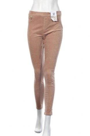 Дамски джинси Denim Co, Размер M, Цвят Бежов, 98% памук, 2% еластан, Цена 38,85лв.