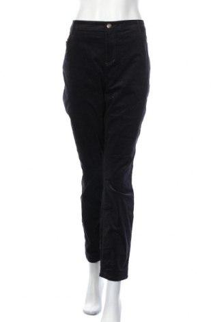 Γυναικείο κοτλέ παντελόνι Regatta, Μέγεθος XL, Χρώμα Μπλέ, 98% βαμβάκι, 2% ελαστάνη, Τιμή 16,66€