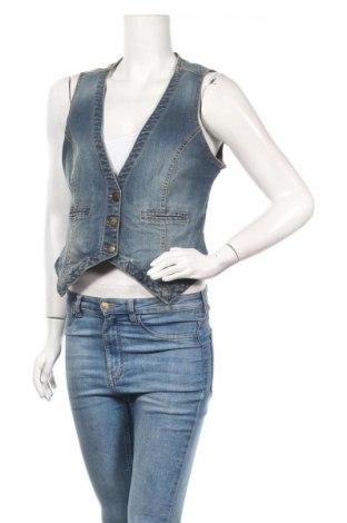 Дамски елек Blue Motion, Размер M, Цвят Син, 99% памук, 1% еластан, Цена 7,25лв.