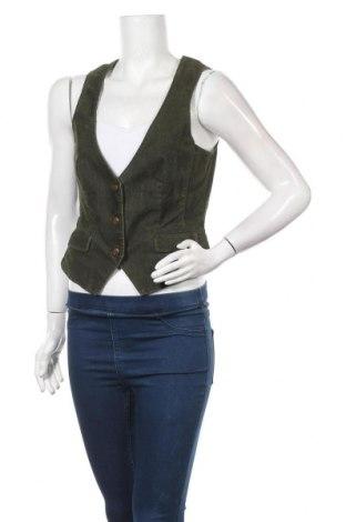 Дамски елек Esprit, Размер M, Цвят Зелен, 98% памук, 2% еластан, Цена 5,78лв.