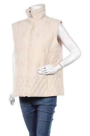 Γυναικείο γιλέκο H&D, Μέγεθος XL, Χρώμα  Μπέζ, Πολυεστέρας, Τιμή 20,46€