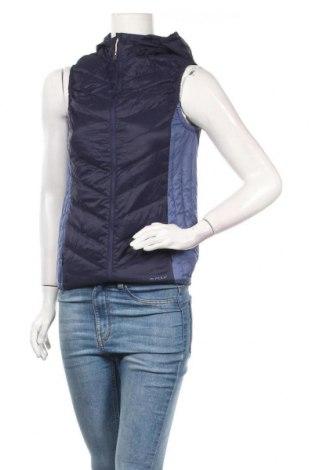 Γυναικείο γιλέκο Pulp, Μέγεθος S, Χρώμα Μπλέ, Πολυαμίδη, φτερά και πούπουλα, Τιμή 25,33€