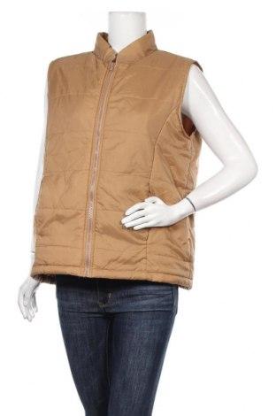 Дамски елек True Fashion, Размер L, Цвят Кафяв, Полиамид, Цена 8,40лв.