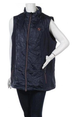 Γυναικείο γιλέκο Ulla Popken, Μέγεθος XL, Χρώμα Μπλέ, Πολυεστέρας, Τιμή 27,28€