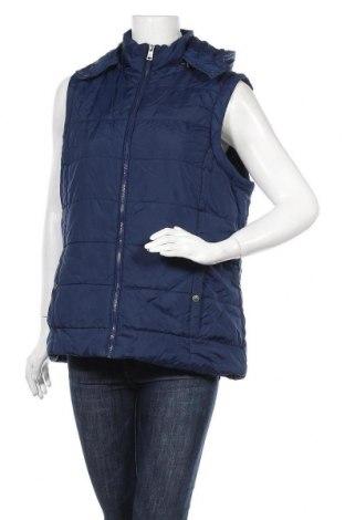 Γυναικείο γιλέκο Up 2 Fashion, Μέγεθος L, Χρώμα Μπλέ, Πολυεστέρας, Τιμή 10,13€