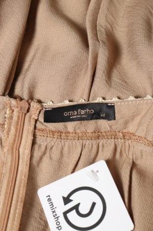 Дамски гащеризон Orna Farho, Размер XL, Цвят Кафяв, 83% вискоза, 18% полиамид, Цена 59,25лв.