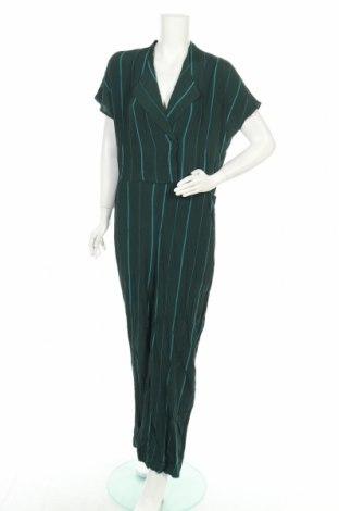 Дамски гащеризон Selected Femme, Размер L, Цвят Зелен, Вискоза, Цена 49,02лв.