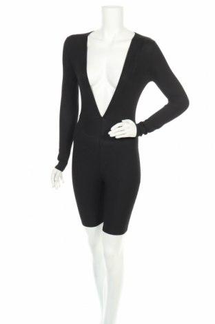 Дамски гащеризон Top Fashion, Размер XS, Цвят Черен, Цена 27,20лв.