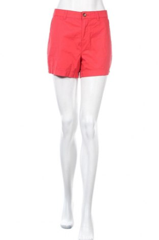 Γυναικείο κοντό παντελόνι Camaieu, Μέγεθος L, Χρώμα Κόκκινο, Βαμβάκι, Τιμή 10,83€