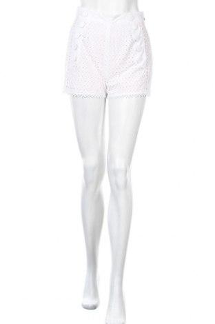 Γυναικείο κοντό παντελόνι Just Cavalli, Μέγεθος S, Χρώμα Λευκό, Βαμβάκι, Τιμή 55,41€