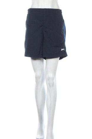 Дамски къс панталон Slazenger, Размер L, Цвят Син, Полиестер, Цена 11,22лв.