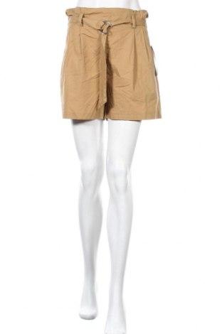 Γυναικείο κοντό παντελόνι Zara, Μέγεθος M, Χρώμα Καφέ, Βαμβάκι, Τιμή 15,31€