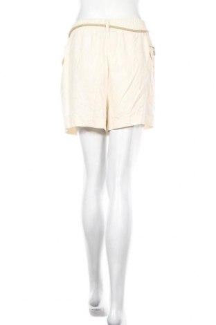 Γυναικείο κοντό παντελόνι Zara, Μέγεθος M, Χρώμα  Μπέζ, Lyocell, Τιμή 15,31€