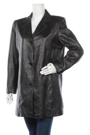 Дамски кожен шлифер TCM, Размер XL, Цвят Кафяв, Естествена кожа, Цена 25,62лв.