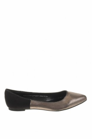 Γυναικεία παπούτσια Camaieu, Μέγεθος 37, Χρώμα Γκρί, Κλωστοϋφαντουργικά προϊόντα, Τιμή 16,88€