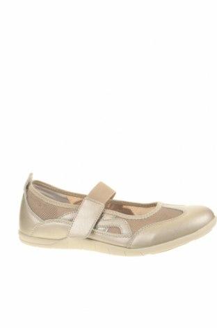 Γυναικεία παπούτσια Damart, Μέγεθος 40, Χρώμα  Μπέζ, Γνήσιο δέρμα, κλωστοϋφαντουργικά προϊόντα, Τιμή 28,90€