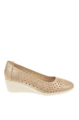 Γυναικεία παπούτσια Damart, Μέγεθος 39, Χρώμα  Μπέζ, Δερματίνη, Τιμή 13,64€