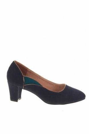 Γυναικεία παπούτσια Damart, Μέγεθος 38, Χρώμα Μπλέ, Δερματίνη, Τιμή 15,91€