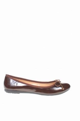 Дамски обувки Manoukian, Размер 36, Цвят Кафяв, Еко кожа, Цена 23,60лв.