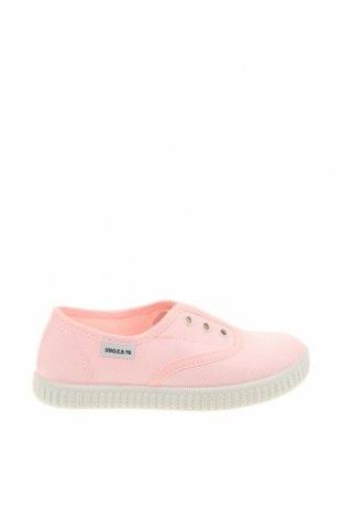 Дамски обувки Sho.E.B. 76, Размер 25, Цвят Розов, Текстил, Цена 22,10лв.