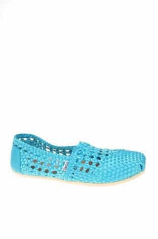 Γυναικεία παπούτσια Toms, Μέγεθος 41, Χρώμα Μπλέ, Κλωστοϋφαντουργικά προϊόντα, Τιμή 12,45€