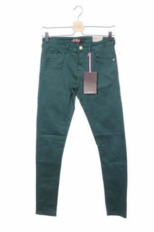 Γυναικείο παντελόνι Alcott, Μέγεθος S, Χρώμα Πράσινο, 97% βαμβάκι, 3% ελαστάνη, Τιμή 7,50€