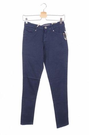 Γυναικείο παντελόνι Alcott, Μέγεθος S, Χρώμα Μπλέ, 98% βαμβάκι, 2% ελαστάνη, Τιμή 18,47€