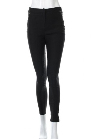 Γυναικείο παντελόνι Ally, Μέγεθος M, Χρώμα Μαύρο, 95% πολυεστέρας, 5% ελαστάνη, Τιμή 10,23€