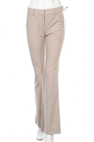Дамски панталон Anne Klein, Размер S, Цвят Бежов, 53% полиестер, 42% вълна, 5% еластан, Цена 21,85лв.