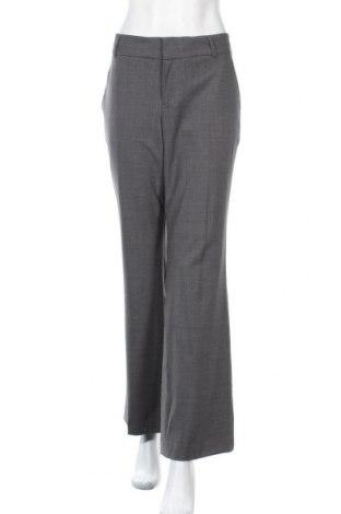 Γυναικείο παντελόνι Banana Republic, Μέγεθος L, Χρώμα Γκρί, 95% μαλλί, 5% ελαστάνη, Τιμή 17,63€