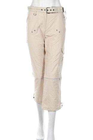 Дамски панталон Canda, Размер S, Цвят Бежов, 72% памук, 28% полиамид, Цена 8,75лв.