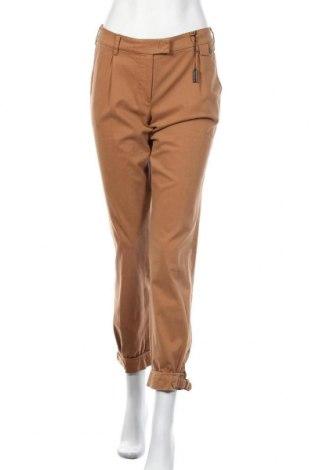 Дамски панталон Claudia Strater, Размер M, Цвят Кафяв, 97% памук, 3% еластан, Цена 13,60лв.