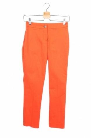 Дамски панталон Cop.copine, Размер XS, Цвят Оранжев, 64% памук, 32% полиамид, 4% еластан, Цена 19,08лв.