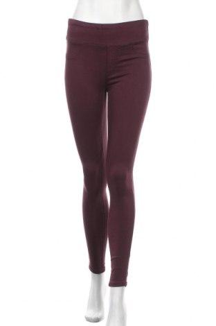 Γυναικείο παντελόνι Decjuba, Μέγεθος M, Χρώμα Βιολετί, 80% βαμβάκι, 17% πολυεστέρας, 3% ελαστάνη, Τιμή 23,45€