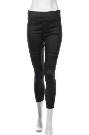 Γυναικείο παντελόνι Decjuba, Μέγεθος M, Χρώμα Μαύρο, 80% βαμβάκι, 17% πολυεστέρας, 3% ελαστάνη, Τιμή 11,37€