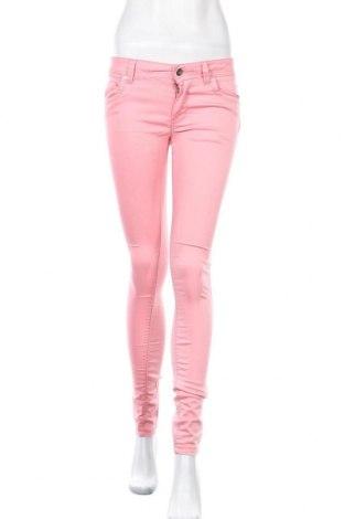Дамски панталон Denim&Co., Размер S, Цвят Розов, 70% памук, 28% полиестер, 2% еластан, Цена 6,83лв.
