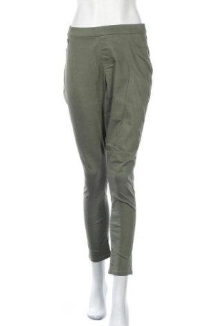 Дамски панталон Denim Co, Размер L, Цвят Зелен, Памук, полиестер, еластан, Цена 24,10лв.
