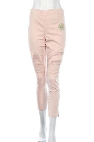 Дамски панталон Denim Co, Размер XL, Цвят Розов, 56% памук, 41% полиестер, 3% еластан, Цена 32,13лв.