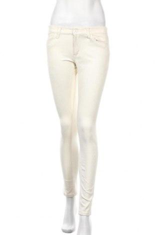 Γυναικείο παντελόνι Dondup, Μέγεθος S, Χρώμα Εκρού, 90% πολυεστέρας, 10% ελαστάνη, Τιμή 52,27€