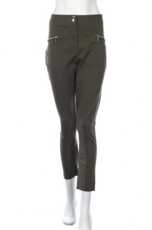 Γυναικείο παντελόνι Dorothy Perkins, Μέγεθος XL, Χρώμα Πράσινο, 77% βισκόζη, 20% πολυαμίδη, 3% ελαστάνη, Τιμή 17,54€