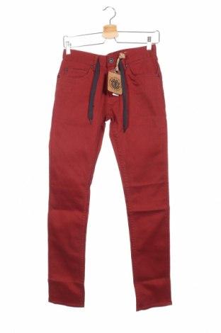 Дамски панталон Element, Размер S, Цвят Червен, 98% памук, 2% еластан, Цена 17,80лв.