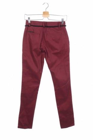 Дамски панталон Eleven Paris, Размер S, Цвят Червен, 97% памук, 3% еластан, Цена 126,75лв.