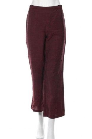 Дамски панталон Escada, Размер M, Цвят Червен, 50% вълна, 50% мохер, Цена 42,24лв.
